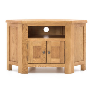 TUDOR OAK CORNER ENTERTAINMENT UNIT