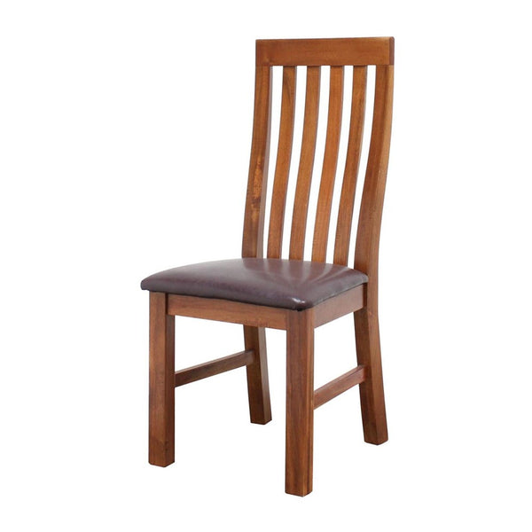 MIDLANDS DINING CHAIR PU SEAT