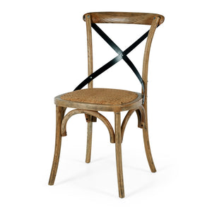 VILLA X-BACK CHAIR | SMOKED OAK