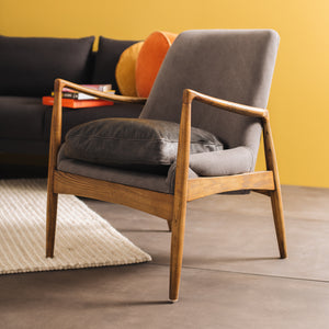 STEINER RETRO ARMCHAIR - AVAILABLE IN 3 COLOURS