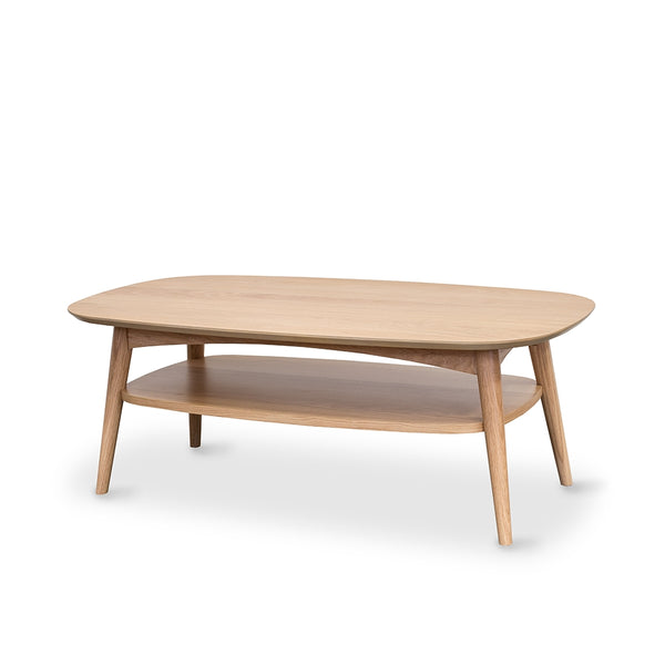 Oslo Coffee Table With Shelf Christchurch The Best