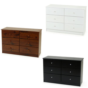 KINGSTON 6 DRAWER LOWBOY