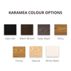 KARAMEA ASH 5 DRAWER TALLBOY | NZ MADE | 7 STAIN OPTIONS