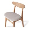 HANS OAK CHAIR | PUMICE OR STONE