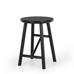 HAGEN STOOL |  BLACK OAK