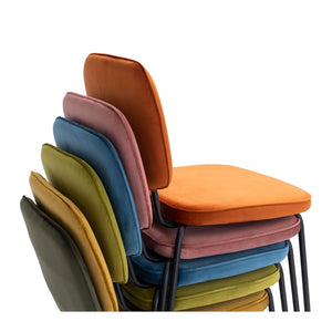 CLYDE DINING CHAIR - 5 COLOURS