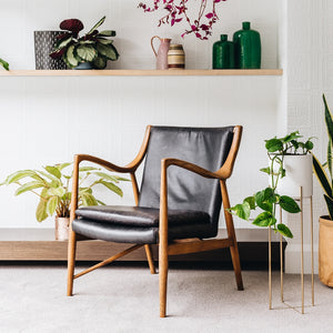 FINN LEATHER ARMCHAIR | 2 COLOURS