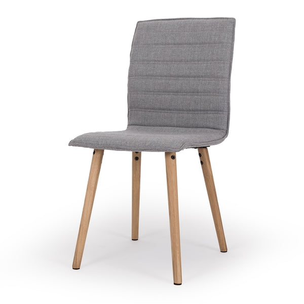 LIVA PADDED DINING CHAIRS | 3 COLOURS