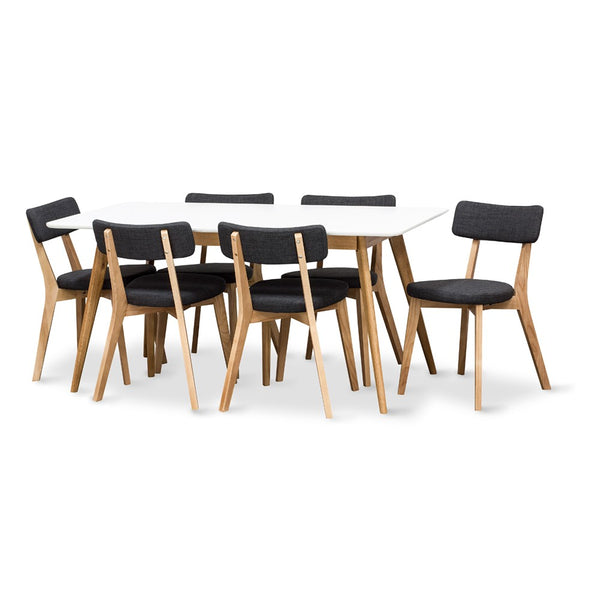 RADIUS 1600 DINING SUITE WITH 6 PREGO CHAIRS
