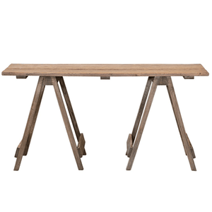 WATSON TRESTLE DESK | CONSOLE TABLE | NATURAL OAK