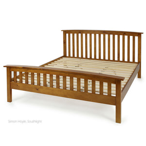 WESTLAND KING SLAT BED