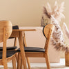 RADIUS 1600 OAK TOP DINING SUITE INCLUDING 6 ZURICH CHAIRS
