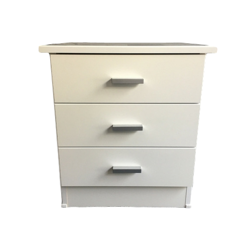 Arctic White Bedside Cabinet Christchurch The Best