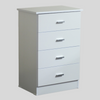 ARCTIC 4 DRAWER TALLBOY