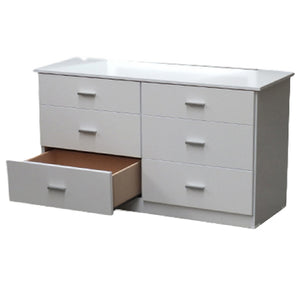 ARCTIC 6 DRAWER LOWBOY