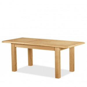 TUDOR OAK 1500 EXT DINING TABLE