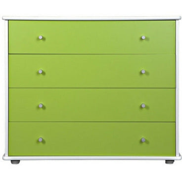 CARNIVAL 4 DRAWER TALLBOY - 8 COLOURS AVAILABLE
