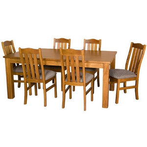 CHARLTON 7 PIECE DINING SUITE | NZ MADE