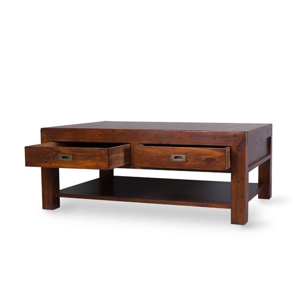POST & RAIL LARGE COFFEE TABLE