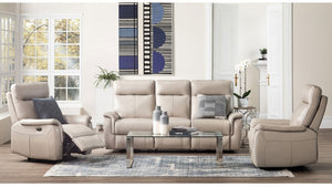 CALLAO THICK LEATHER | ELECTRIC | 3 SEATER & 2 RECLINERS | 2 COLOURS