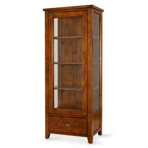 IRISH COAST DISPLAY CABINET ~ 1 DRAWER / 1 DOOR