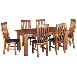MIDLANDS 7 PIECE 1800 DINING SUITE