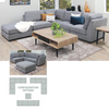 RANDWICK MODULAR CORNER LOUNGE SUITE | AVAILABLE IN 4 COLOURS