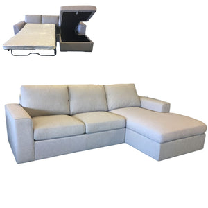 SLOANE CHAISE WITH SOFA BED AND STORAGE | 4 Colours
