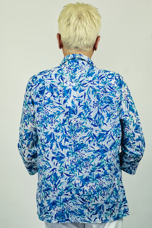 Load image into Gallery viewer, Brushstroke Floral Shirt
