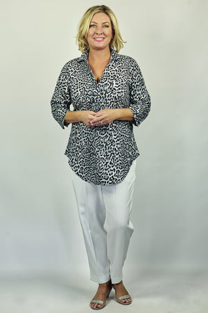 Load image into Gallery viewer, Animal Print Overshirt