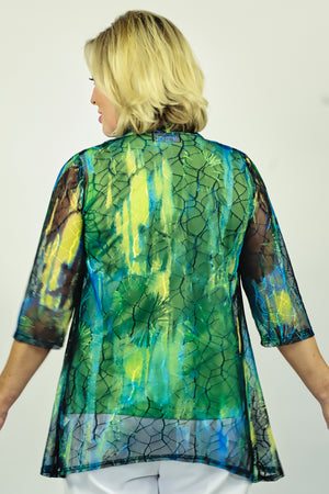 Load image into Gallery viewer, Stretch Mesh Jacket - Emerald
