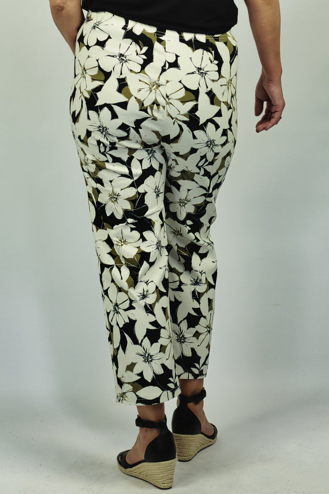 Load image into Gallery viewer, Floral Print Pants