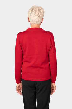 Load image into Gallery viewer, Slade Half Placket Button Collar Pullover