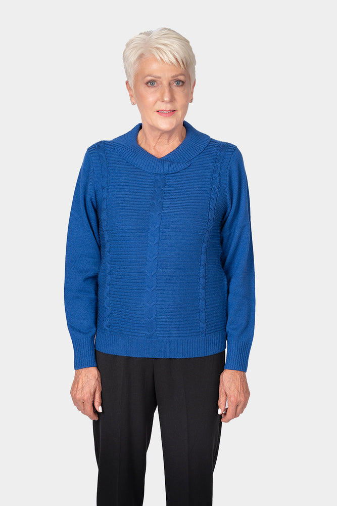 Load image into Gallery viewer, Slade Crossover Neck Pullover