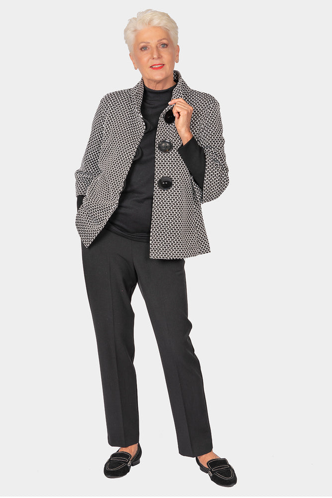Tessalation Jacket with Inner Sleeve