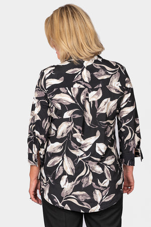 Load image into Gallery viewer, Mandarin Collar Blouse