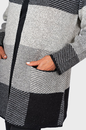 Soft Touch Patchwork Jacket