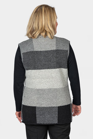 Soft Touch Patchwork Vest