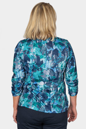 Load image into Gallery viewer, Vivid Leaf Crew Neck Top