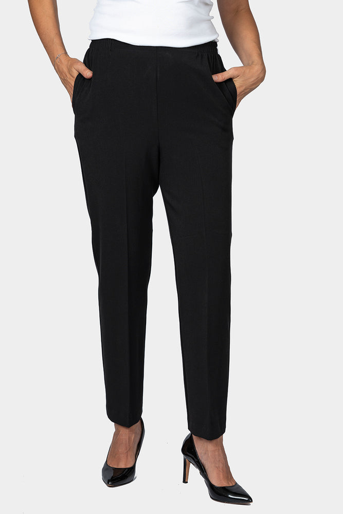 Black Petite Fit Pants - LONGER LEG