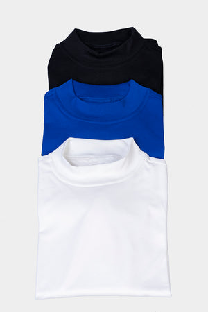 Load image into Gallery viewer, Mock Skivvy - Blue