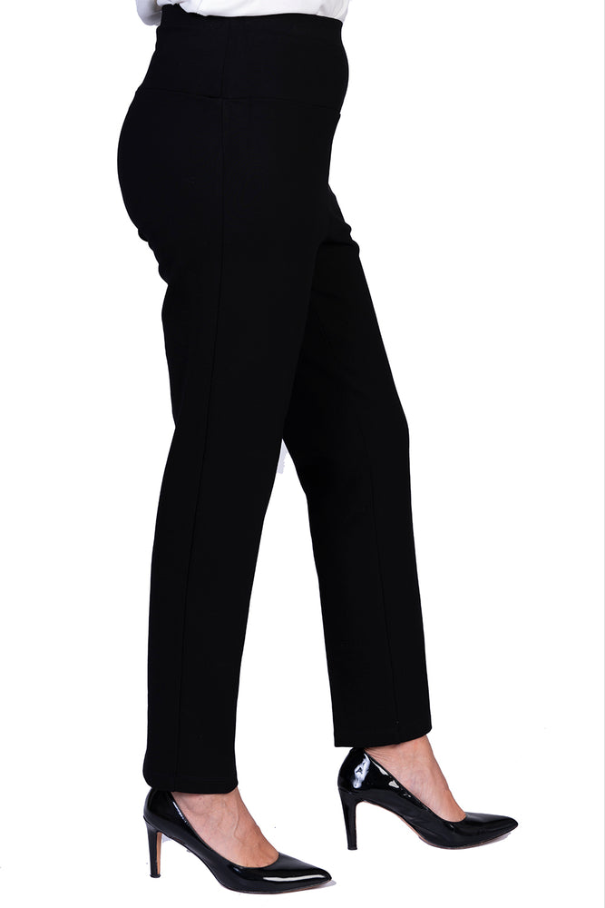 Load image into Gallery viewer, Ponte Pants Flat Waist - SHORTER LEG