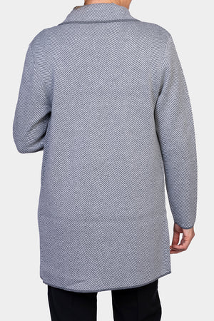 Load image into Gallery viewer, Long Line Knit Jacket
