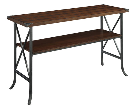 Convenience Concepts Brookline Console Table with Shelf R4-0203