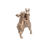 "Sagebrook Home Polyresin 7"" Bunnies Dancing 13004-06"