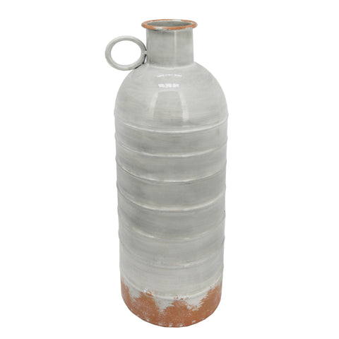 "Sagebrook Home Metal 18"" Deco Milk Jar 14726-01"