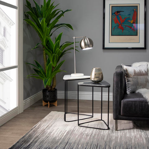Elk Stone Manor 8-Light Island Light In Aspen And Matte Black 15463/8