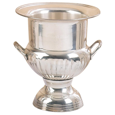 Zimlay Traditional Silver-Plated Brass Wine Bucket 18611