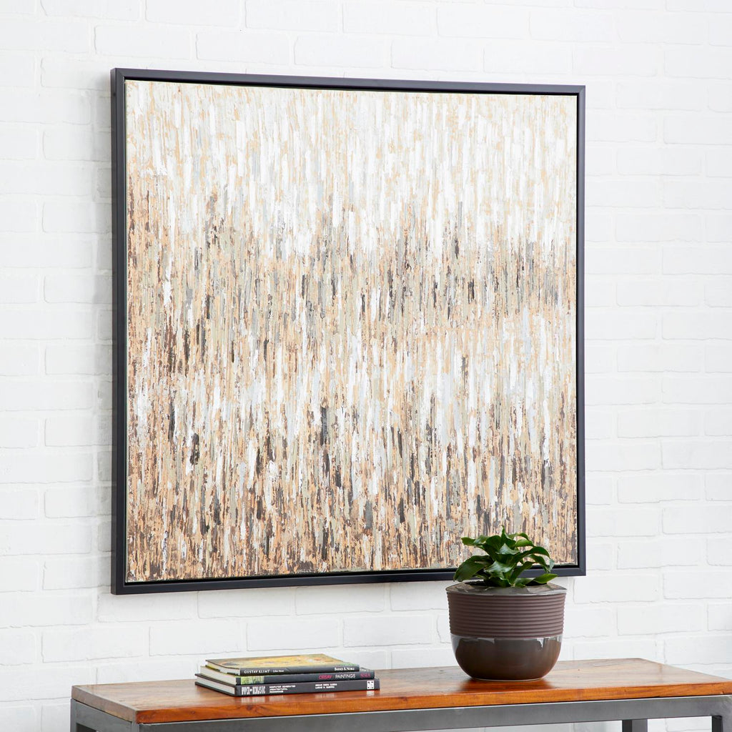 Zimlay Modern Fir Wood Abstract Landscape Canvas Art 43958