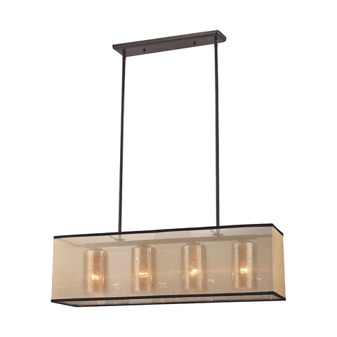 Elk Diffusion 4 Light Chandelier in Oil Rubbed Bronze 57028/4